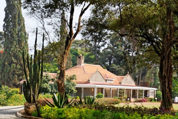 karen blixen with Serengeti Adventure Safari